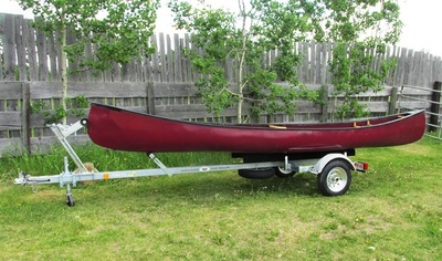 One Place Canoe Trailer 2 Place Kayak Trailer With Or